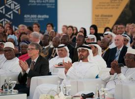 UAE launches $100m charity fund with Bill Gates