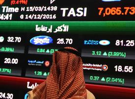 Saudi stocks lead Gulf bourses down after oil slump