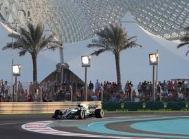 Bottas tops practice times ahead of Abu Dhabi Grand Prix
