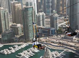 In pictures: Brand new urban zipline at Dubai Marina