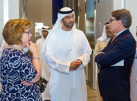 US Secretary of Energy Rick Perry visits ADNOC