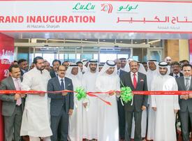 Deputy Ruler of Sharjah opens new Lulu Hypermarket in Al Hazana