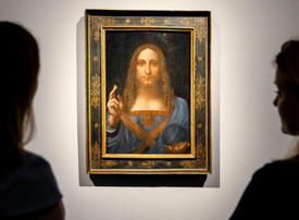 Louvre Abu Dhabi date set for world's most expensive painting