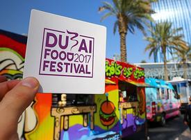 Dates revealed for the 2018 Dubai Food Festival