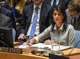 US envoy Haley to present 'irrefutable evidence' on Iran