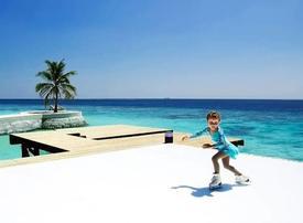 Dubai's Jumeirah brings first ice rink to tropical Maldives