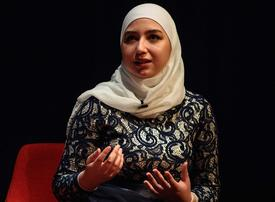 Video: A Syrian refugee on how she is proving the 'haters' wrong