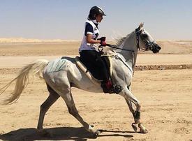 Video: The endurance horse rider of Dubai