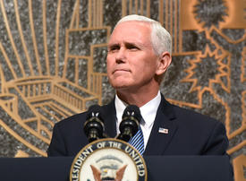 US Vice President Pence to travel to Middle East next week