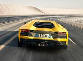 Lamborghini catches fire in Ras Al Khaimah