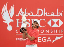 Hot back nine sees Fleetwood hold off McIlroy in Abu Dhabi