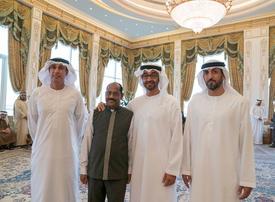 Mohamed bin Zayed bids farewell to long-serving worker