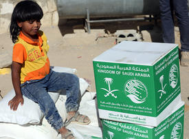 In pictures: Saudi-led coalition humanitarian aid arrived in Yemen