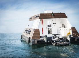 Dubai launches world's first floating drive-thru