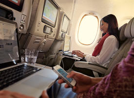 Emirates says 2.8m inflight calls made since historic 2008 first