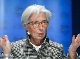 ECB's Lagarde says 'probably passed lowest point' of economic crisis