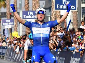 In pictures: Italian rider Elia Viviani wins the Dubai Tour