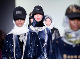 In pictures: Abaya-only collection New York Fashion Week
