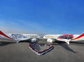 Video: Emirates shares the love with Real Madrid and Paris Saint-Germain for Valentine's Day
