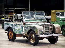 Land Rover to restore the one that started it all