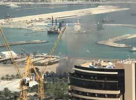 Fire in Dubai Marina put under control