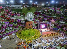 Dubai Miracle Garden unveils Mickey Mouse tribute display