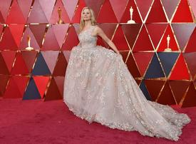 In pictures: Stunning gowns on the Oscars red carpet