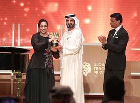 In pictures: Dubai Ruler honors winner of Global Teacher Prize