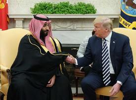 Trump and Saudi Crown Prince trade lavish praise in US visit