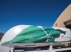 Virgin Hyperloop eyes Saudi 'hyperloop studies' institute