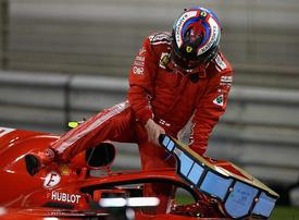 In pictures: Action from qualifying Bahrain F1 Grand Prix