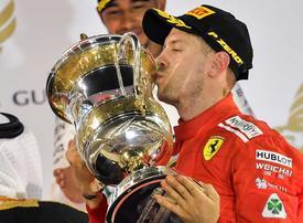 In pictures: Vettel wins the Bahrain F1 Grand Prix