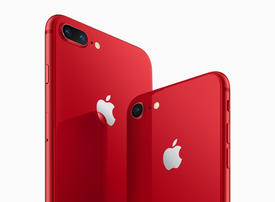 Apple launches red iPhone 8 to keep line fresh mid-cycle