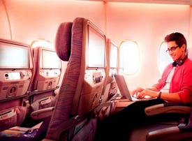 Emirates sees over 1m inflight Wi-Fi connections during March