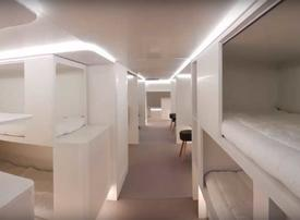 Video: Airbus will let travelers sleep in the cargo hold