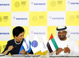 PepsiCo named as official F&B partner of Expo 2020 Dubai