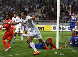In pictures: Baghdad's Al Zawraa Club beats Manama Club 2-1 at AFC Champions League