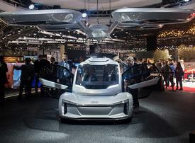 Video: Bizarre self-driving concept cars
