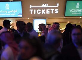 Saudi cinemas see 59,000 moviegoers a month since lifting of ban