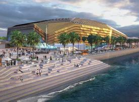 Yas Bay Arena sees 'significant' construction milestone