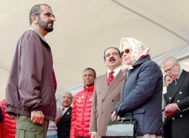 In pictures: Sheikh Mohammed attends Windsor Royal Endurance Race in UK