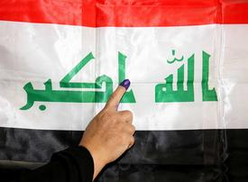 In pictures: Voters head to the polls for Iraq's parliamentary elections