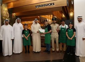 Starbucks employee in Dubai hands in lost bag containing $118k