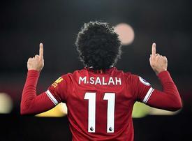 Video: Aspiring footballers in Mo Salah's hometown