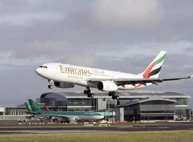 Emirates' third flight to Dublin delayed due to airport restrictions