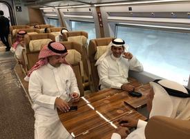 Saudi Arabia opens new high-speed railway to public