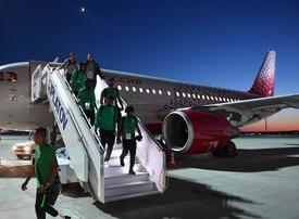 Saudi World Cup team's plane suffers engine fire