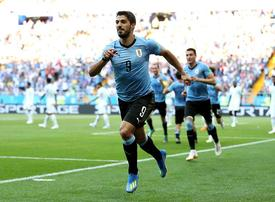 FIFA World Cup 2018: Uruguay reach knockout stage in Russia - photos
