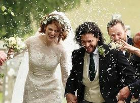 Game of Thrones star opts for Elie Saab on wedding day