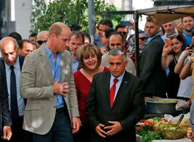 In pictures: Prince William visits Palestine